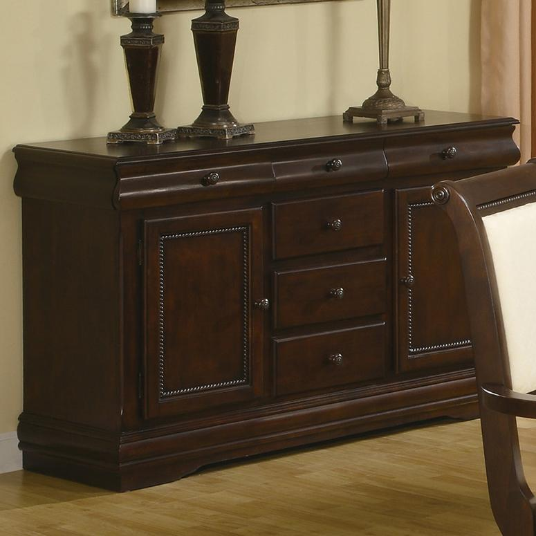 Crown Mark Merlot Buffet - Item Number: 2145-B