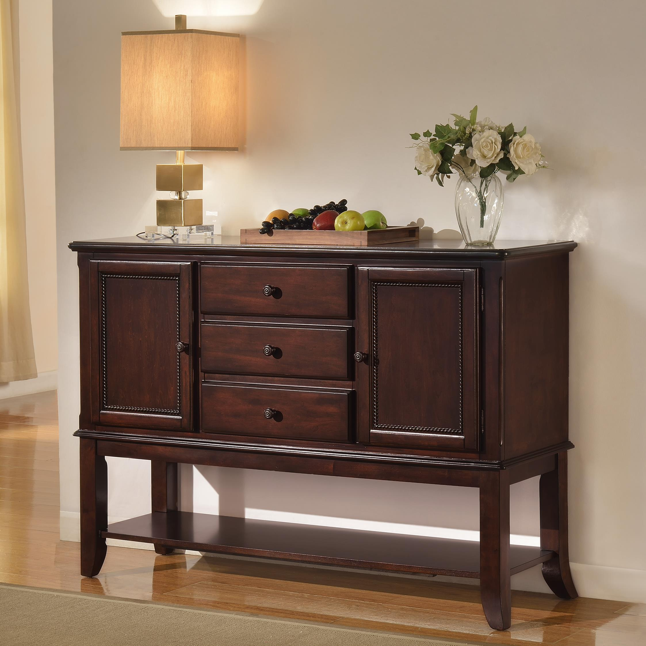 Crown Mark Merlot Side Board - Item Number: 2145-SB