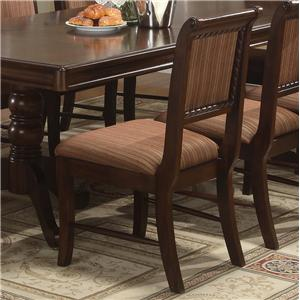 Crown Mark Merlot Dining Side Chair
