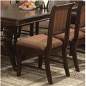 Collection One Merlot Dining Side Chair - Item Number: 2146S