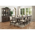 Crown Mark Merlot Formal Dining Room Group - Item Number: 2147 Dining Room Group 1