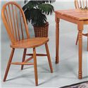 Crown Mark Farmhouse Dining Side Chair - Item Number: 2303L.OAK