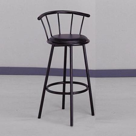 Crown Mark 4077 Swivel Stool - Item Number: 4077BK