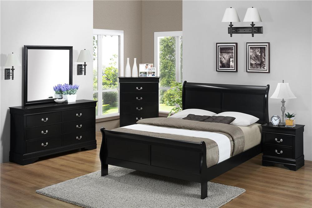 CM Louis Phillipe Louis Phillip Bedroom Group - Item Number: B3900 2