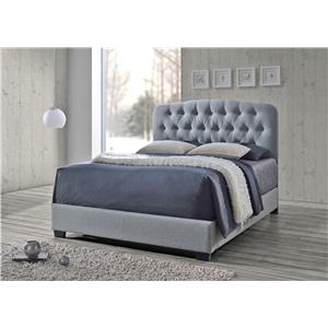 Crown Mark Tilda 5274 Tilda Upholstered Bed