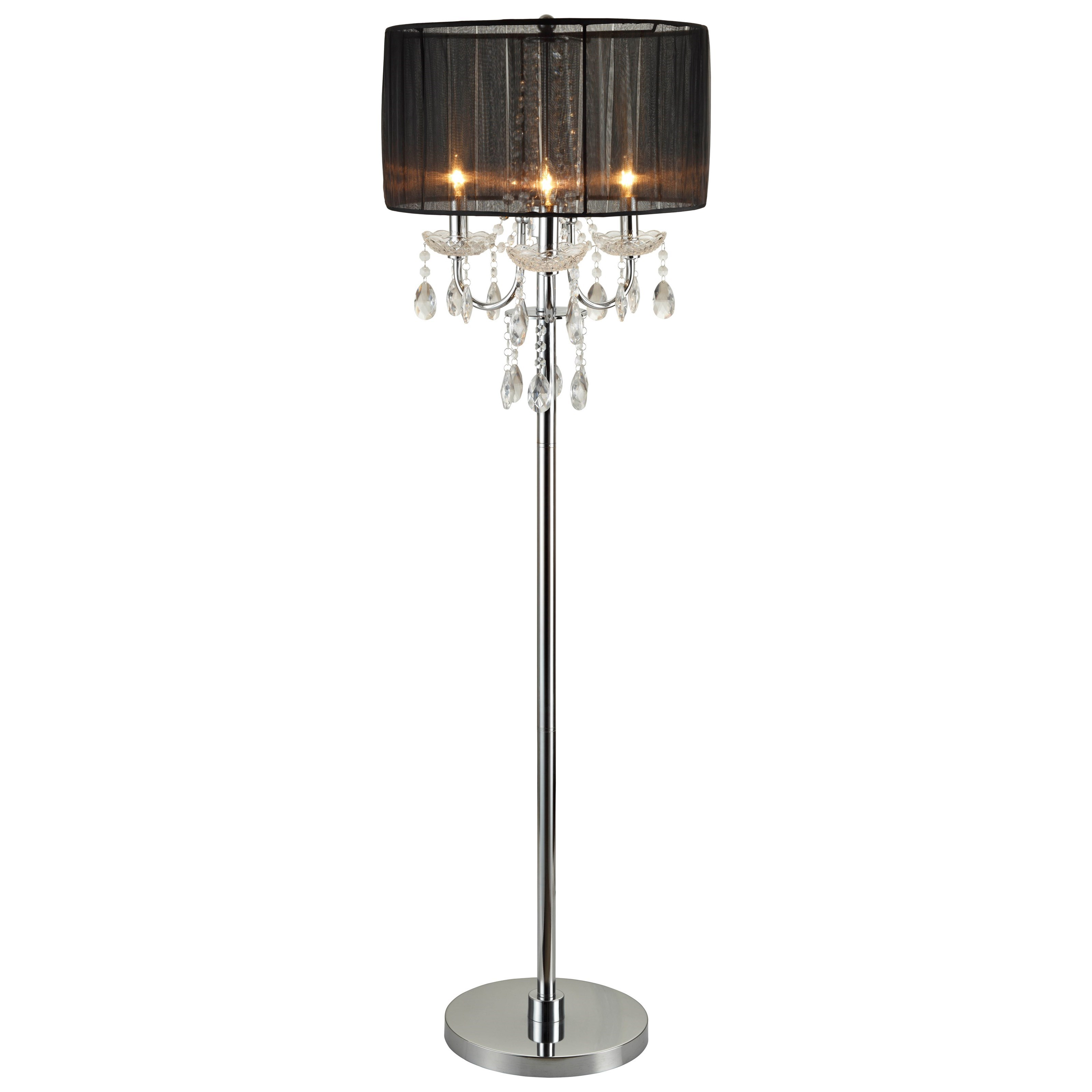 6123 Floor Lamp by Crown Mark at Northeast Factory Direct