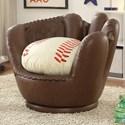 Crown Mark 7006 Baseball Glove Chair - Item Number: 7006