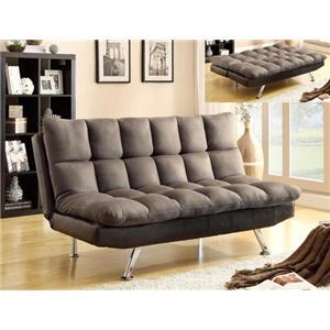 Crown Mark Futons & Daybeds Pebble Sundown Adjustable Sofa