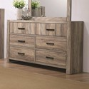Crown Mark Abbot Dresser - Item Number: B8290-1