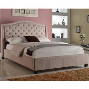 Crown Mark Addison King Bed