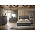 Crown Mark Akerson Queen Bedroom Group - Item Number: B4620 Q Bedroom Group 1