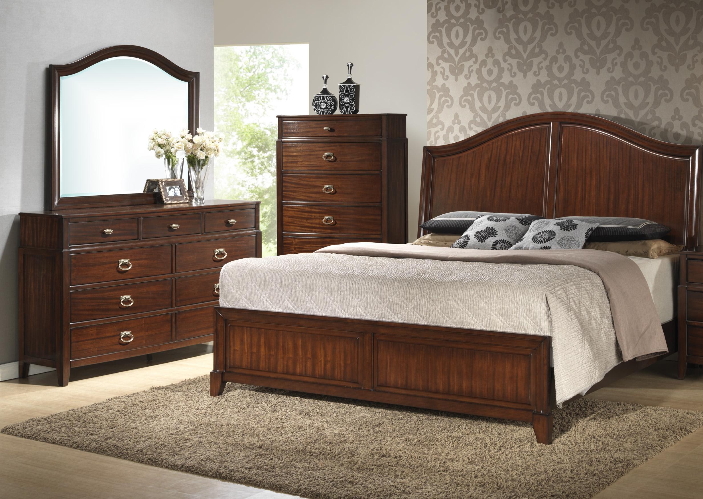 Crown Mark Alma  3 Piece Queen Bedroom Set - Item Number: B6600 Q Bedroom Group 2