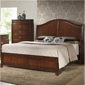 Crown Mark Alma  King Bed