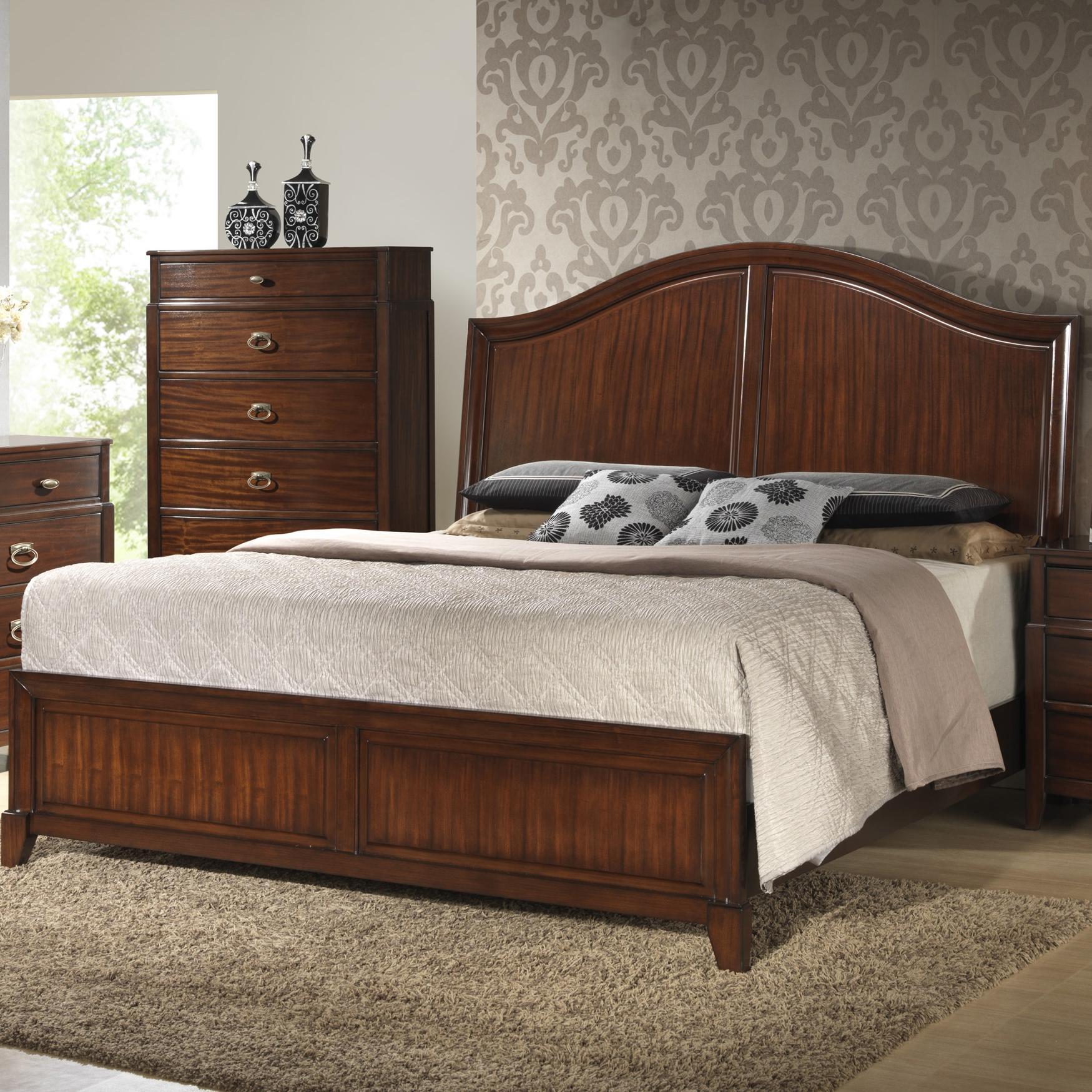 Crown Mark Alma  Queen Bed - Item Number: B6600-Q-HB+Q-FB+Q-RAIL