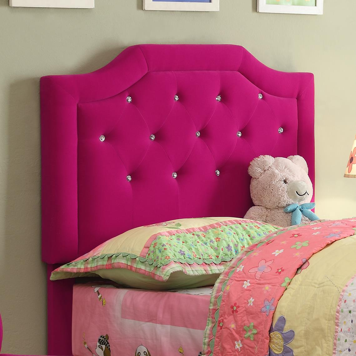 Crown Mark Amelia Youth Twin Headboard - Item Number: 5009-T-HB
