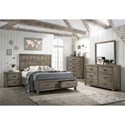 Crown Mark Arcadia King Bedroom Group - Item Number: B5600 K Bedroom Group 1