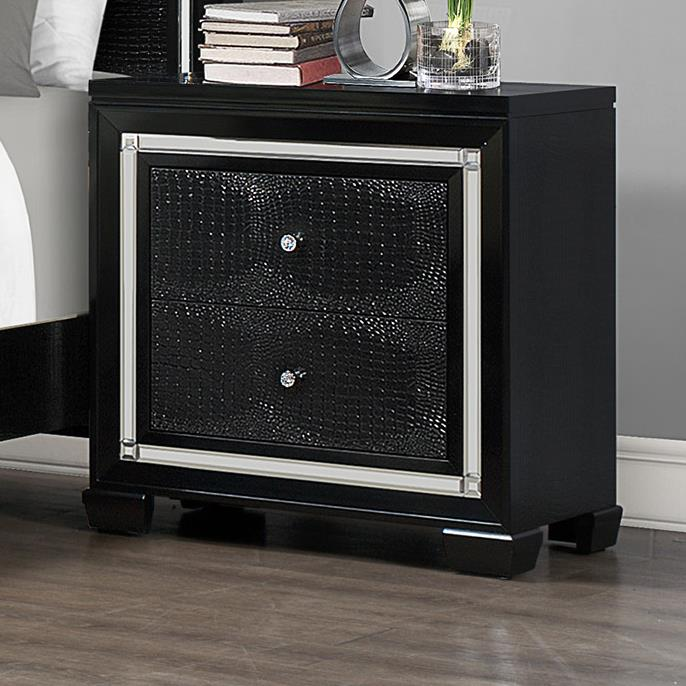 Crown Mark Aria Night Stand - Item Number: B7200-2