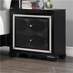 Crown Mark Aria Night Stand