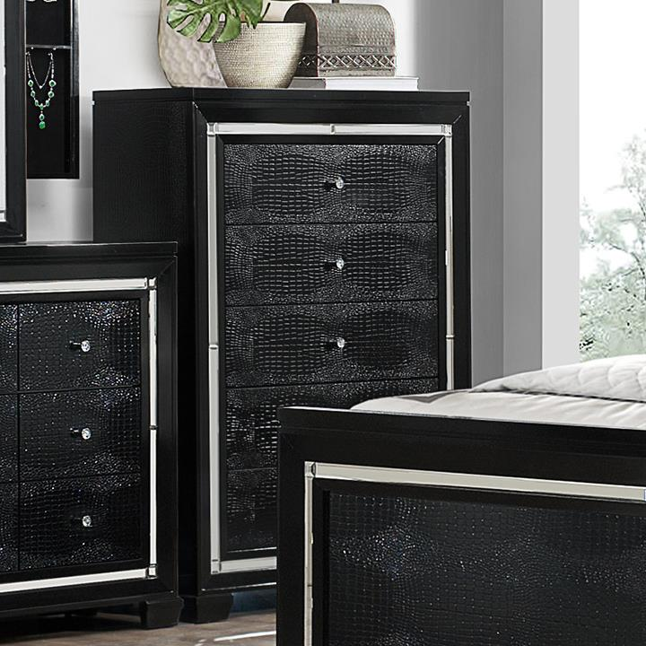 Crown Mark Aria 5 Drawer Chest - Item Number: B7200-4
