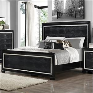 Crown Mark Aria King Bed
