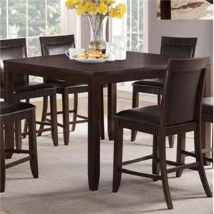 Crown Mark Ariana Espresso Counter Height Table