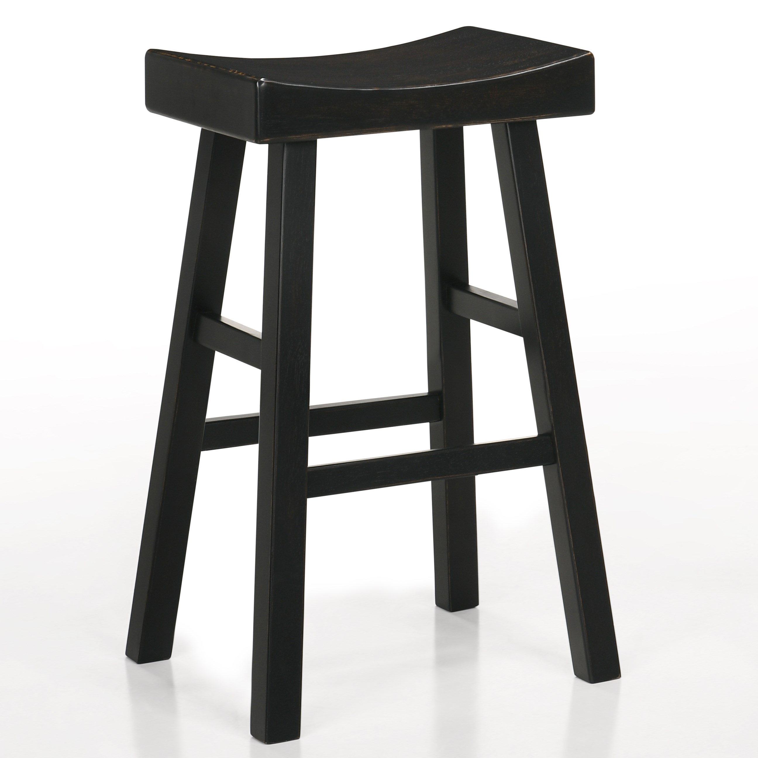 """Aruba 29"""" Saddle Stool by Crown Mark at Catalog Outlet"""