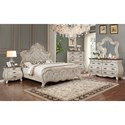 Crown Mark Ashford Queen Bedroom Group - Item Number: B1000 Q Bedroom Group 1