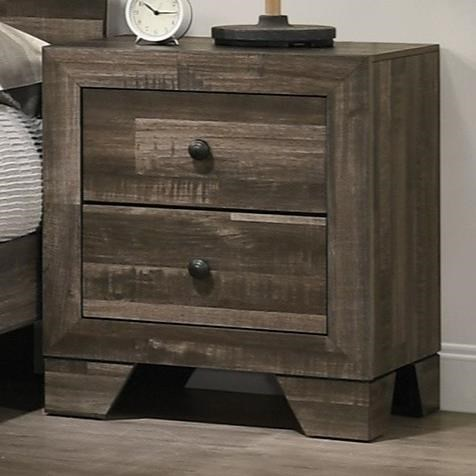 Atticus Nightstand by Crown Mark at Darvin Furniture