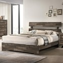 Crown Mark Atticus Twin Bed - Item Number: B6980-T-BED