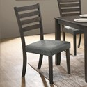 Crown Mark Aubery Dining Side Chair - Item Number: 2340GY-S