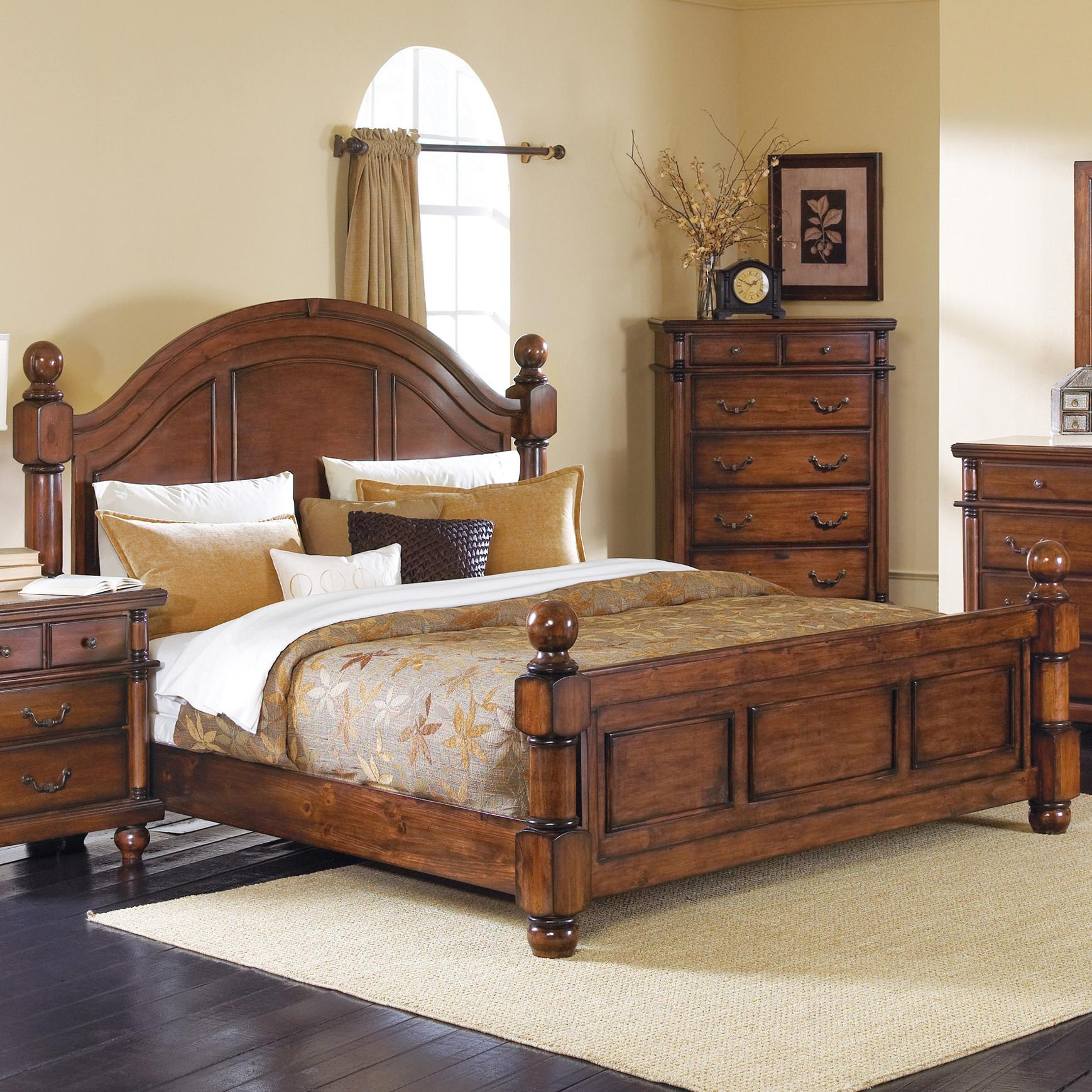 Crown Mark Augusta Queen Headboard & Footboard Bed  - Item Number: B7800-Q-HB+FB+RAIL