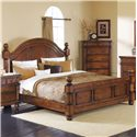 Crown Mark Augusta Queen Headboard & Footboard Bed  - Bed Shown May Not Represent Size Indicated