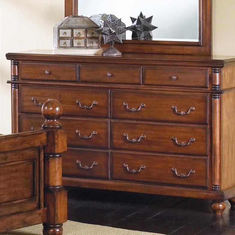 Crown Mark Augusta 9 Drawer Dresser - Item Number: B7801