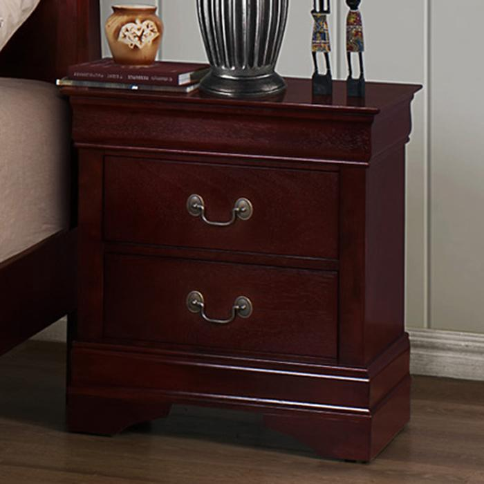 Crown Mark B3800 Louis Phillipe Nightstand - Item Number: B3800-2