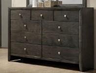 Crown Mark B4720 GREY Nine Drawer Dresser - Item Number: B4720 Grey Dresser