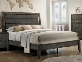 Crown Mark B4720 GREY King Size Bed - Item Number: B4720 Grey King