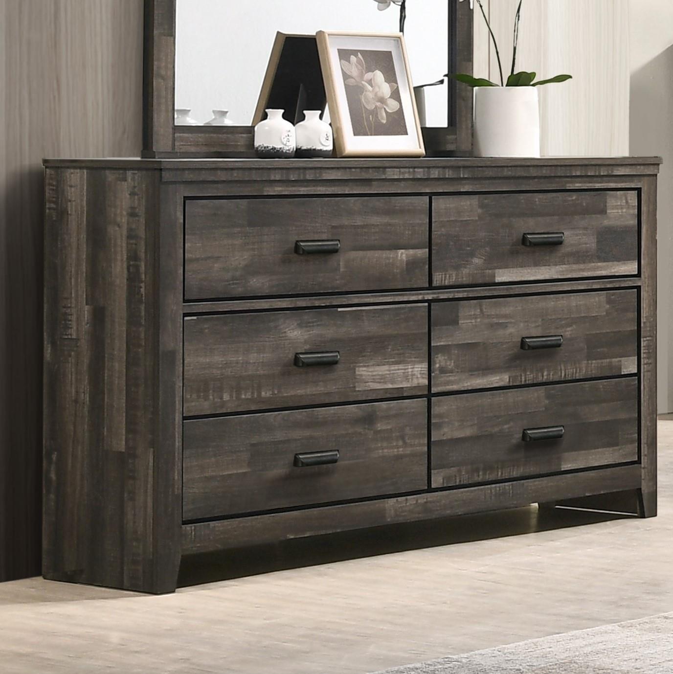 B6800 CARTER Double Dresser by Crown Mark at Furniture Fair - North Carolina