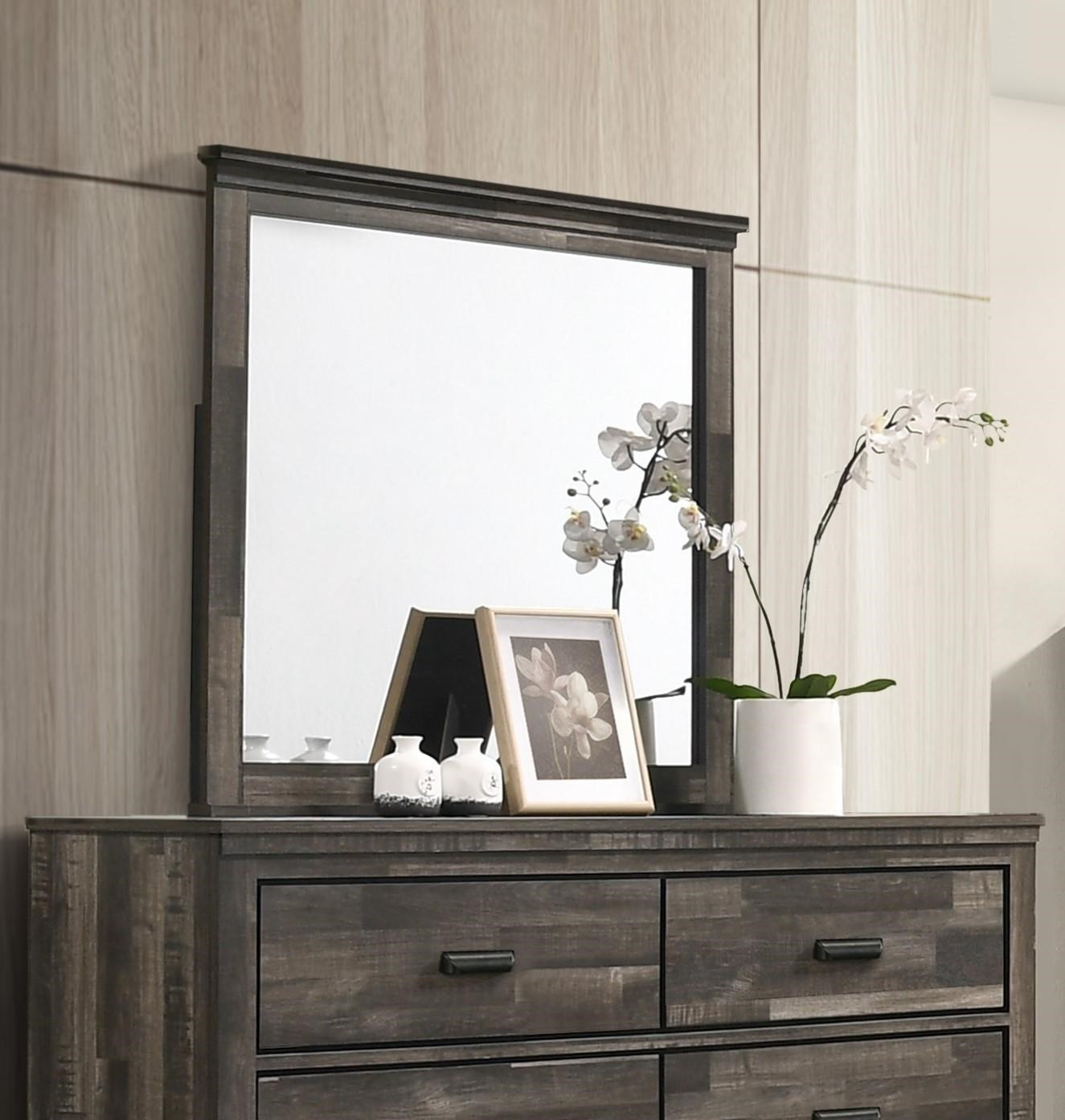 B6800 CARTER Mirror by Crown Mark at Furniture Fair - North Carolina