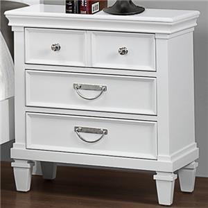 Crown Mark Hannah Night Stand