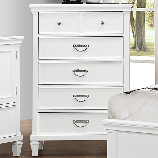 Crown Mark Hannah Chest of Drawers - Item Number: B9100-4