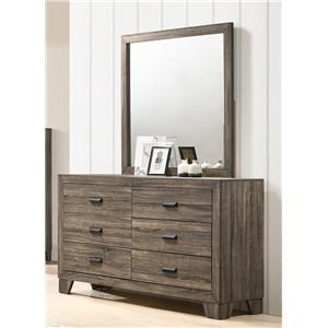 Dresser and Mirror Package