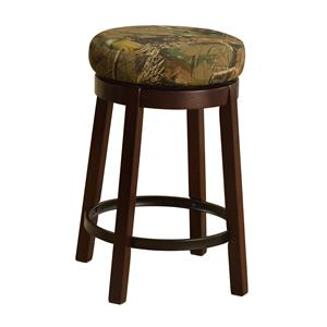 Crown Mark Bar Stools Low Swivel Stool