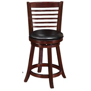 Crown Mark Bar Stools Low Swivel Chair