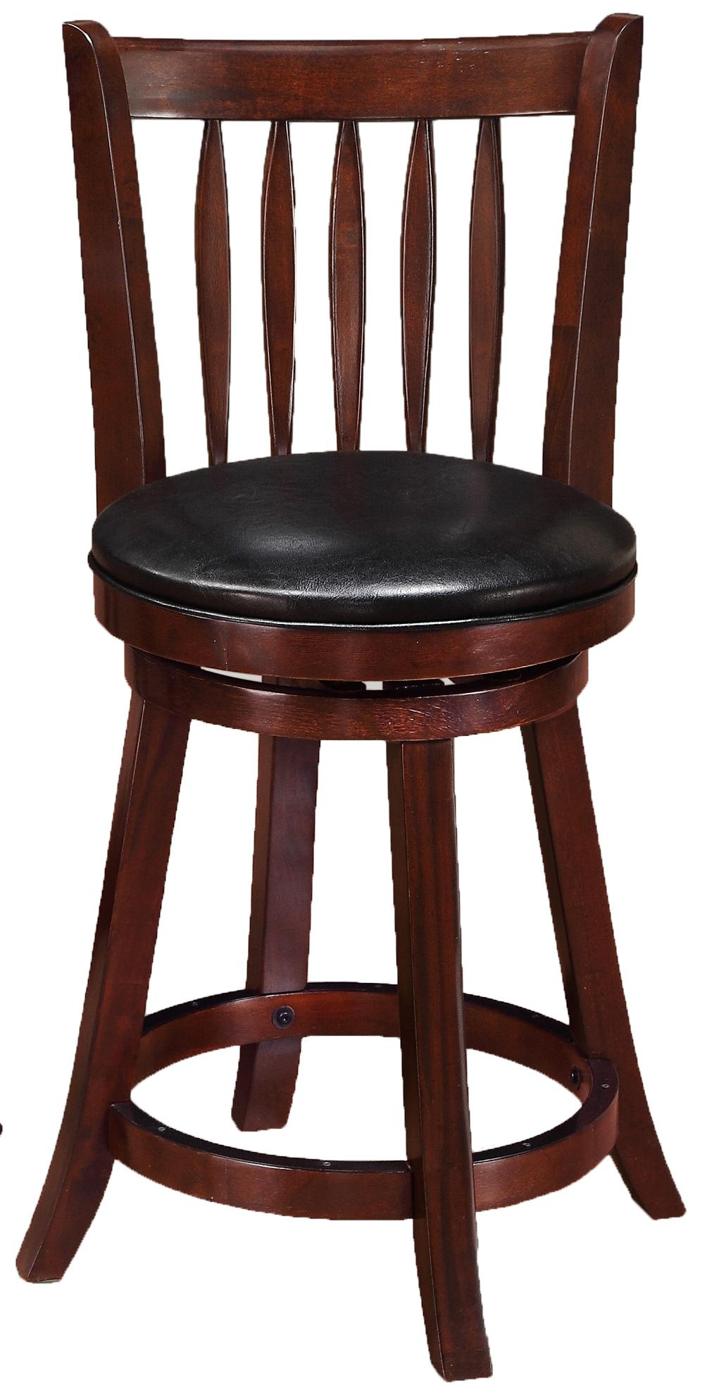 Crown Mark Bar Stools Low Swivel Chair - Item Number: 2797C-24