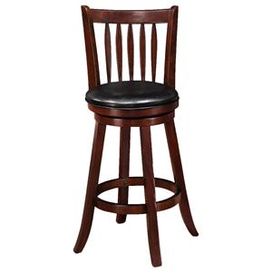 Crown Mark Bar Stools High Swivel Chair