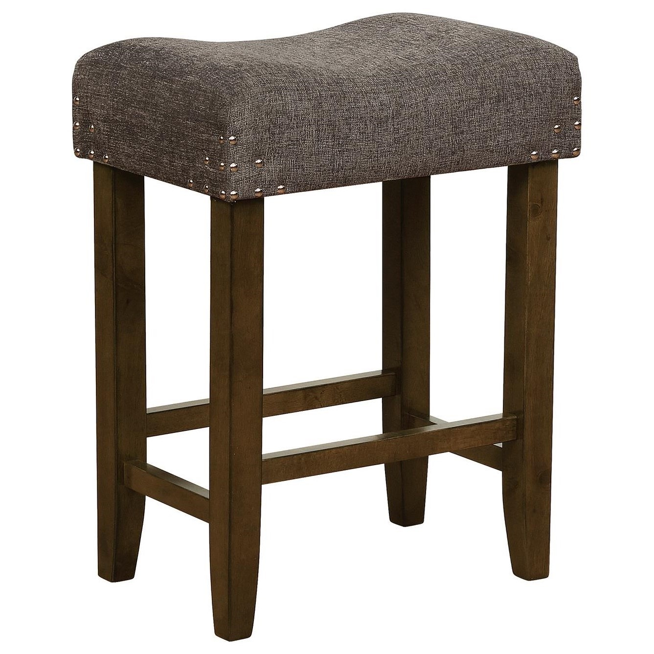 Crown Mark Bar Stools Cm 2783c 24 Dgy Transitional Counter