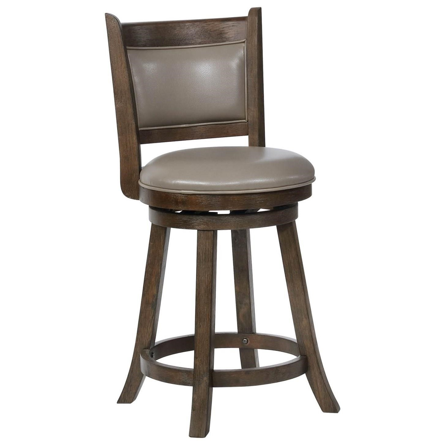 Crown Mark Bar Stools Cm Swivel Counter Height Bar Stool