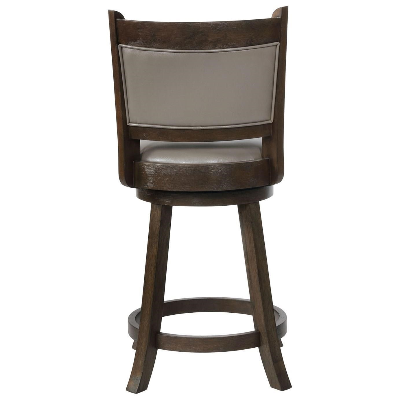 Crown Mark Bar Stools Cm 2798c 24 Gy Swivel Counter Height