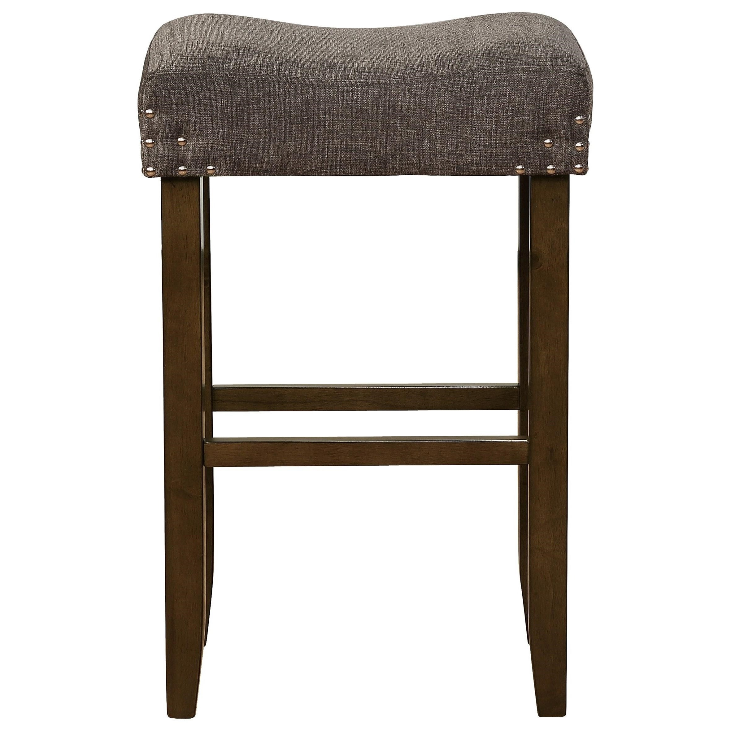 Crown Mark Bar Stools Cm Transitional Bar Height Stool