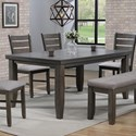 Crown Mark Bardstown Dining Table - Item Number: 2157GY-T-4266
